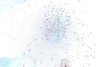 花火のアブストラクトイメージ