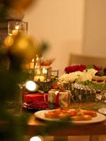 パーティーのテーブルセッティング 02343000673| 写真素材・ストックフォト・画像・イラスト素材|アマナイメージズ