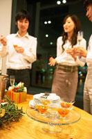 クリスマスパーティー 02343000761| 写真素材・ストックフォト・画像・イラスト素材|アマナイメージズ