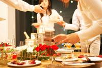 クリスマスパーティー 02343000763| 写真素材・ストックフォト・画像・イラスト素材|アマナイメージズ