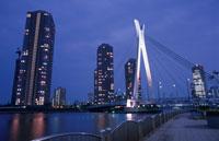 中央大橋と佃島マンション群