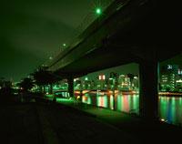吾妻橋のライトアップ
