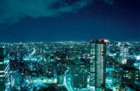 都内の夜景 02350000306| 写真素材・ストックフォト・画像・イラスト素材|アマナイメージズ
