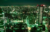 都内の夜景 02350000308| 写真素材・ストックフォト・画像・イラスト素材|アマナイメージズ