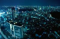 都内の夜景 02350000357| 写真素材・ストックフォト・画像・イラスト素材|アマナイメージズ