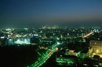 都内の夜景 02350000360| 写真素材・ストックフォト・画像・イラスト素材|アマナイメージズ
