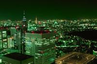 西新宿の夜景 02350000363| 写真素材・ストックフォト・画像・イラスト素材|アマナイメージズ
