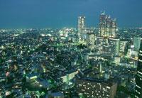 新宿の夜景 02350000367| 写真素材・ストックフォト・画像・イラスト素材|アマナイメージズ