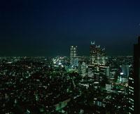 新宿の夜景 02350000377| 写真素材・ストックフォト・画像・イラスト素材|アマナイメージズ