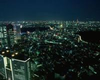 都内の夜景 02350000378| 写真素材・ストックフォト・画像・イラスト素材|アマナイメージズ