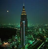 新宿の夜景 02350000437| 写真素材・ストックフォト・画像・イラスト素材|アマナイメージズ