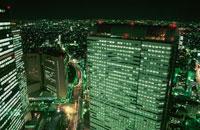 新宿の夜景 02350000439| 写真素材・ストックフォト・画像・イラスト素材|アマナイメージズ