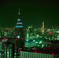 新宿の夜景 02350000448| 写真素材・ストックフォト・画像・イラスト素材|アマナイメージズ