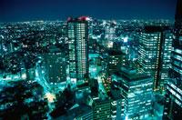 新宿の夜景 02350000451| 写真素材・ストックフォト・画像・イラスト素材|アマナイメージズ