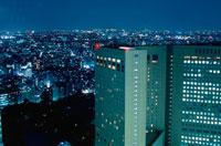 新宿の夜景 02350000452| 写真素材・ストックフォト・画像・イラスト素材|アマナイメージズ