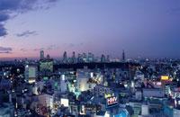 都内の夜景 02350000463| 写真素材・ストックフォト・画像・イラスト素材|アマナイメージズ