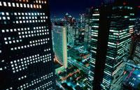 新宿の夜景 02350000485| 写真素材・ストックフォト・画像・イラスト素材|アマナイメージズ