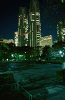 新宿の夜景 02350000488| 写真素材・ストックフォト・画像・イラスト素材|アマナイメージズ