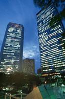 西新宿のビル群の夜景 02350000492| 写真素材・ストックフォト・画像・イラスト素材|アマナイメージズ