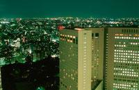 新宿の夜景 02350000493| 写真素材・ストックフォト・画像・イラスト素材|アマナイメージズ