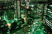 新宿の夜景 02350000503| 写真素材・ストックフォト・画像・イラスト素材|アマナイメージズ