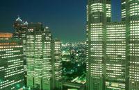 新宿の夜景 02350000504| 写真素材・ストックフォト・画像・イラスト素材|アマナイメージズ