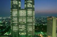 新宿の夜景 02350000505| 写真素材・ストックフォト・画像・イラスト素材|アマナイメージズ