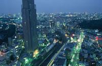 新宿の夜景 02350000524| 写真素材・ストックフォト・画像・イラスト素材|アマナイメージズ