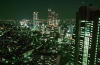 新宿の夜景 02350000525| 写真素材・ストックフォト・画像・イラスト素材|アマナイメージズ