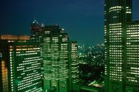 新宿の夜景 02350000545| 写真素材・ストックフォト・画像・イラスト素材|アマナイメージズ