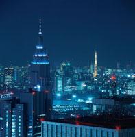 新宿の夜景 02350000548| 写真素材・ストックフォト・画像・イラスト素材|アマナイメージズ