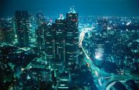 新宿の夜景 02350000552| 写真素材・ストックフォト・画像・イラスト素材|アマナイメージズ
