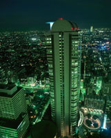新宿の夜景 02350000555| 写真素材・ストックフォト・画像・イラスト素材|アマナイメージズ