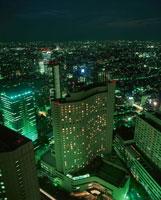 新宿の夜景 02350000556| 写真素材・ストックフォト・画像・イラスト素材|アマナイメージズ