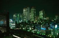 新宿の夜景 02350000561| 写真素材・ストックフォト・画像・イラスト素材|アマナイメージズ