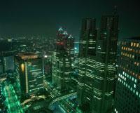 新宿の夜景 02350000563| 写真素材・ストックフォト・画像・イラスト素材|アマナイメージズ