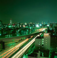 首都高速の夜景