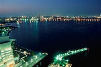 横浜湾岸夜景