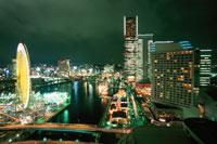 みなとみらいの夜景 02350000810| 写真素材・ストックフォト・画像・イラスト素材|アマナイメージズ