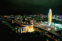 みなとみらいの夜景 02350000812| 写真素材・ストックフォト・画像・イラスト素材|アマナイメージズ