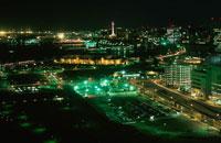 横浜湾岸夜景 02350000813| 写真素材・ストックフォト・画像・イラスト素材|アマナイメージズ