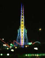 横浜コスモワールドの観覧車 02350000873| 写真素材・ストックフォト・画像・イラスト素材|アマナイメージズ