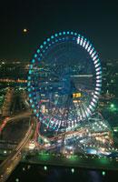 横浜コスモワールド観覧車 02350000970| 写真素材・ストックフォト・画像・イラスト素材|アマナイメージズ