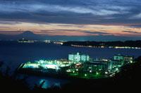 大崎公園から見た夜景