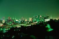 唐沢公園から見た夜景