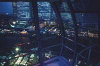 横浜コスモワールド観覧車からの風景