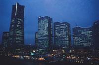 横浜コスモワールド観覧車からの風景 02350001175| 写真素材・ストックフォト・画像・イラスト素材|アマナイメージズ