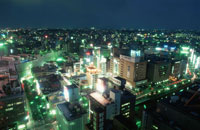 横浜の夜景 02350001190| 写真素材・ストックフォト・画像・イラスト素材|アマナイメージズ