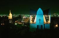 聖ヨハネ教会のライトアップ