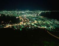 函館山から函館市を望む夜景